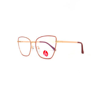 Gafas Oftálmicas para Mujer, Marca Las Gafas, Sobrias, Pure Gold